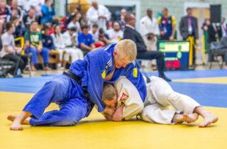 Action from last year's GB VI Judo Grand Prix